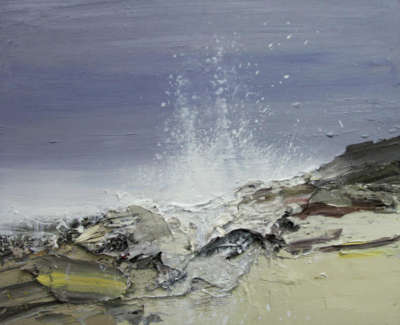 Bushe C Wild Atlantic Islay Ii Oil On Board 60X50