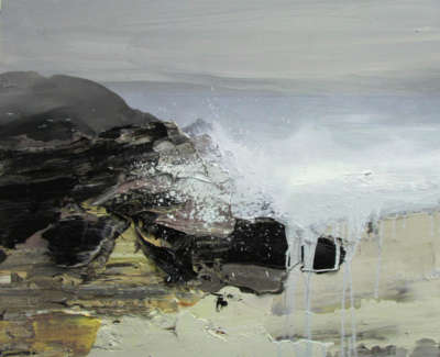 Bushe C Wild Atlantic Islay Vii Oil On Board 60X50