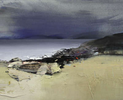 Bushe C Windswept The Sound Of Jura Mixed Media 74X51