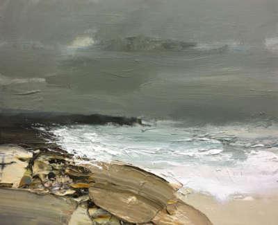 Bushe Chris Turbulent Seaanda Grey Green Sky