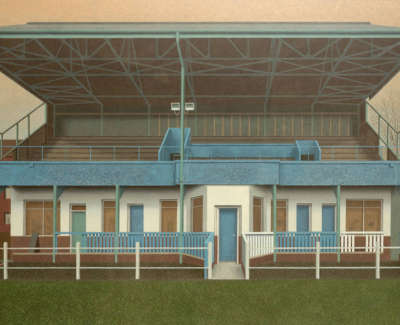 Evans  D  The  Stand, City  Park Acryliconboard 72X124 Sold