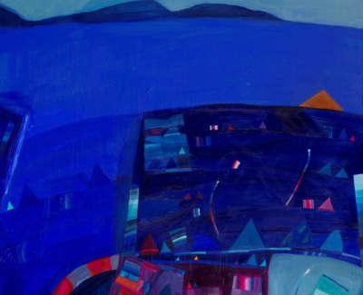 Hope  D  Tothe Island Acrylic 76X76