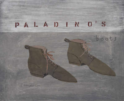 Pamphilon E Paladinosboots Mixedmediaonwodenpanel 40X50