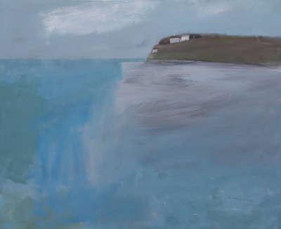 Pamphilon E Sand Bank Hayle Estuary Mixedmediaoncanvas 80X100