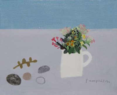 Pamphilon E Sea Bouquet Mixedmediaoncanvas30X40