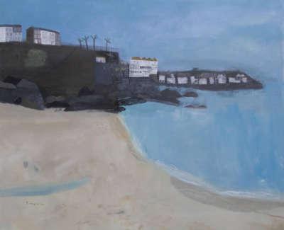 Pamphilon E St Ives Cornwall Mixedmediaon Canvas100X120