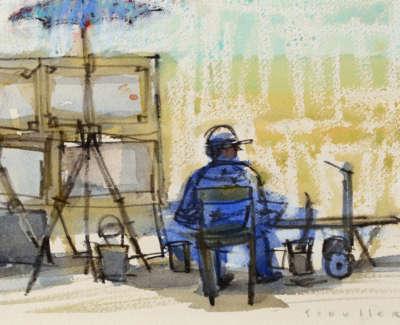 54 Scouller Glen Street Artistin Shade Florence Watercolour 16X20 600