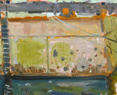 Scouller  G  Harbour  Walland Tethered Boats St Monans Oilonpanel 36X91