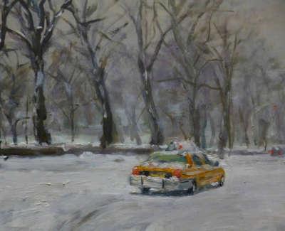 Kondracki  H  Yellow Cab 25X25