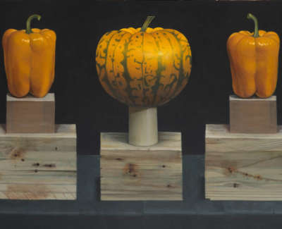 Fairgrieve  J  Yellow Peppersand Squash Acryliconboard 61X35