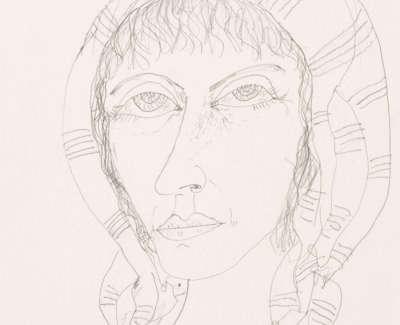 Bellany  J  Maiden Pencil 54X37 5