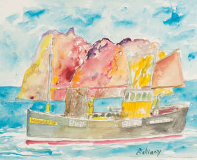 Bellany  J  Margarets Bk38  Watercolour 56X76
