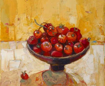 Wither  K  Creamof Tomato Oiloncanvas 40X40