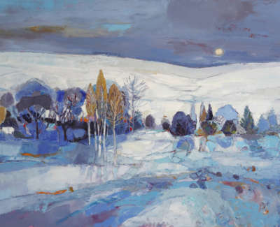 Wither  K  Layerson Layers Oiloncanvas 81X121