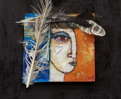 Bond  M 01  Punk  Madonna With  Feathers