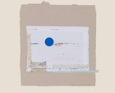 Reeves  P  Blue Moonand Tide Mixedmediac1991 29X27 Sold