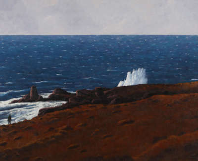Rob M Coastal Memory The Wave Oilonlinen 97X130