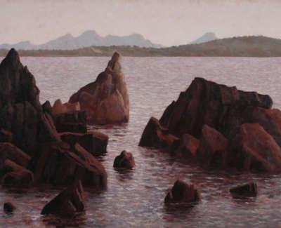 Rob M High Tide Waterhouse Island Tasmania Oilonlinen 97X160