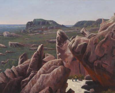 Rob M Mount Zero Grampuian Ranges Australia Oilonlinen 97X130