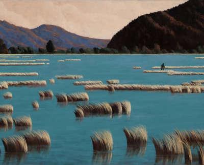 Maclaurin  R  Tasmanian Lagoon Oilonlinen 97X130 5,500