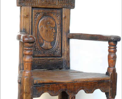 Fraser  R  Caqueteuse Chair Reclaimedwoodenpanel 102X63X47