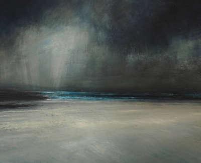 Brownlee  R  Lightoverthe Isles Mixedmediaaonboard 47X57  Sold