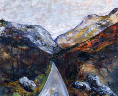Approaching Glencoe
