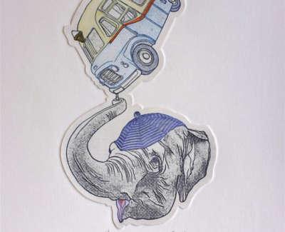 Elephant Ice Cream Van