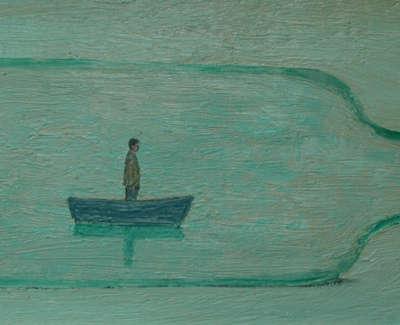 Adrift Oilonboard 20X45Cm