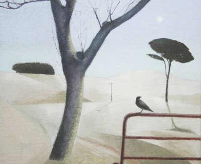 Mabon  T  Winter Treesand Bird Oilonlinen 25X25