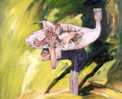 Bellany  The Burden Oiloncanvas1971 183X157 5